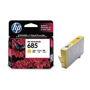 HP685 CZ124AA ORIGI I/JET CART YLLW