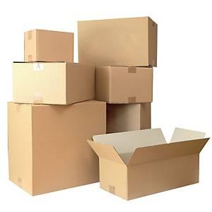 Lyreco Carton Box 386 X 248 X 171mm  - Pack of 20