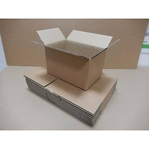 Double Wall Kraft Cardboard Box 600X400X400mm Pack of 10
