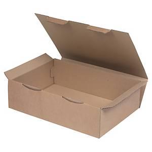 Boîte postale kraft brun - 430 x 300 x 120 mm - lot de 50