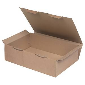 Shipping box 430 x 300 x 120 mm brown - pack of 50