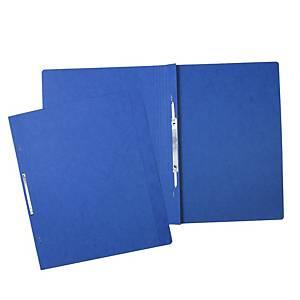 Nezávěsný rychlovazač Hit Office, A4 350g, balení 20 ks, modrá