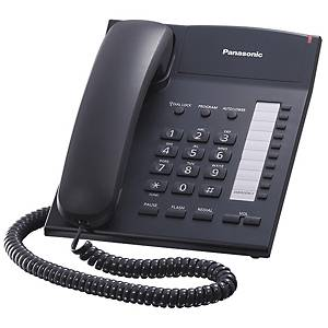 PANASONIC โทรศัพท์ KX-TS820MX สีดำ
