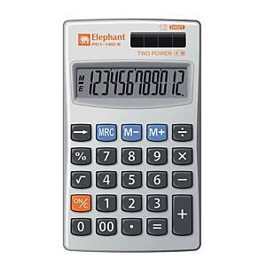 ตราช้าง เครื่องคิดเลข P01-12D S 12 หลัก