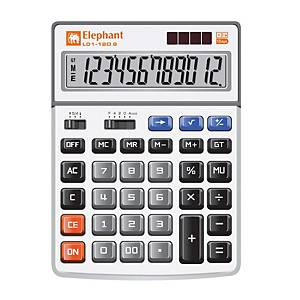 ELEPHANT L01-12D-S Desktop Calculator 12 Digits