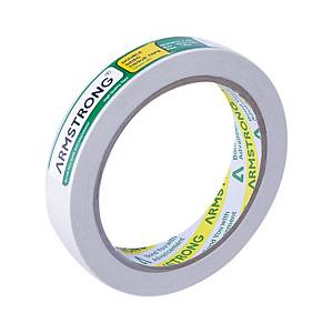 ARMSTRONG Double-Sided Tape 18mm X 20 Yards 3 Inch Core