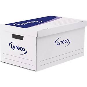 Lyreco container voor 5 archiefdozen, automatische montage, per doos