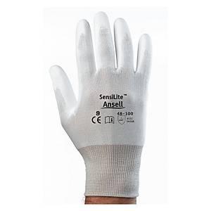 Caja de 12 pares de guantes de precisión Ansell Hyflex 48-100 - talla 9
