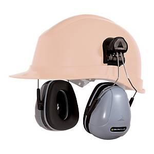 MAGY COURS chrániče sluchu pro bezpečnostní přilby, šedá/černá