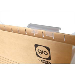 Pack de 25 visores para carpetas colgantes Gio By Elba