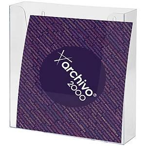Expositor de pared Archivo 2000 - A4 - 1 compartimento - transparente