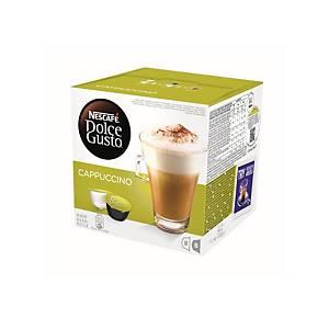 Caixa 16 cápsulas de café Dolce Gusto Cappuccino
