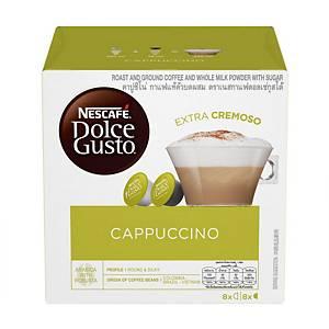 Nescafe Dolce Gusto Cappuccino Capsule - Box of 16