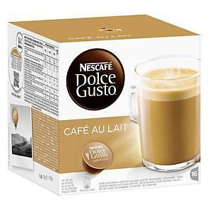 Nescafe Kapseln Dolce Gusto Cafe au Lait, 16 Stück