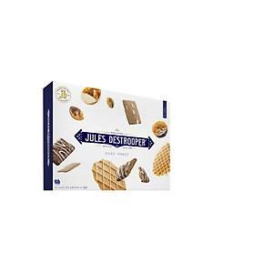 Jules Destrooper Jules Finest assortment' koekjes, 5 variëteiten, doos van 250 g