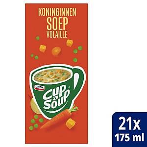 Cup-a-Soup koninginnensoep, doos van 21 zakjes
