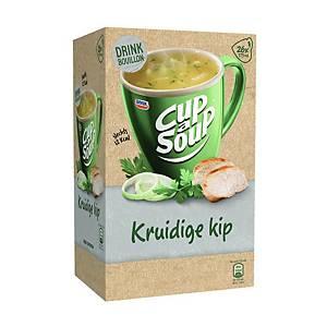 Cup-a-Soup drinkbouillon kruidige kip, doos van 26 zakjes