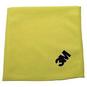 Pack de 10 panos absorventes microfibra Scotch Brite 36 x 36 cm - amarelo
