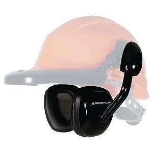 Deltaplus Suzuka 2 Ear Defender Black - Helmet Mounted