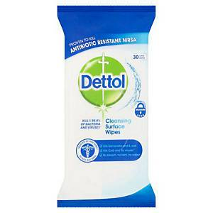 Dettol Surface Wipes - Pack of 30