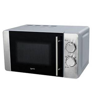 Microwave 20 Litre 800W Manual Stainless Steel