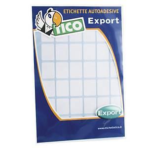Etichette adesive multiuso Tico export E-1610 16x10 mm bianco - conf. 800
