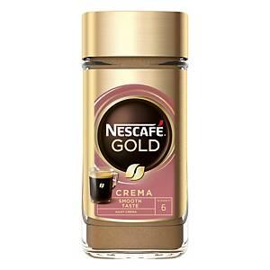 Rozpustná káva Nescafé Gold Crema ve skleněné dóze, 200 g