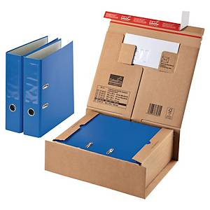 PARCEL DESPATCH BOX FOR SAVE POSTAGE 330X290X120MM BROWN PACK OF 10