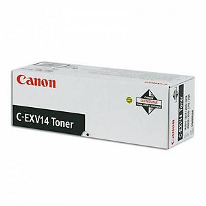 Toner laser Canon C-EXV14 - preto