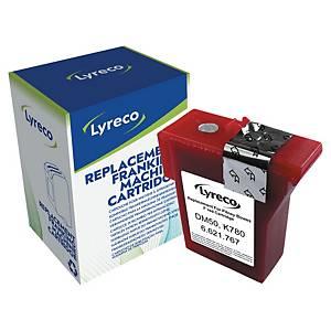 LYRECO COMPAT INK PITNEY BOWES K780001 F RED