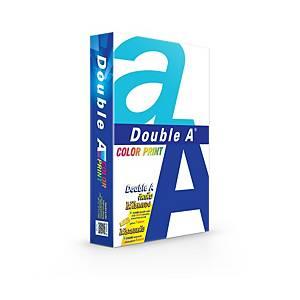 DOUBLE A COLOUR PRINT COPY PAPER A4 90G WHITE 500 SHEETS/REAM - 5 REAMS/BOX