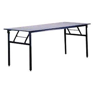 Writebest Rectangular Grey Foldable Table 1800 X 60 X 760mm