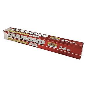 Diamond Aluminum Foil 12 inch x 7.6m