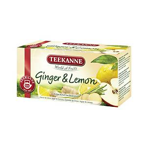 Teekanne Premium Ingwer&Zitrone Tee, 20 Teebeutel à 1,75 g