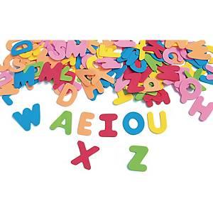 Colorations lettres en caoutchouc 45 mm - le paquet de 150