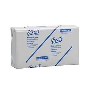 Scott Multifold Hand Towel 250 Sheets - Pack of 16