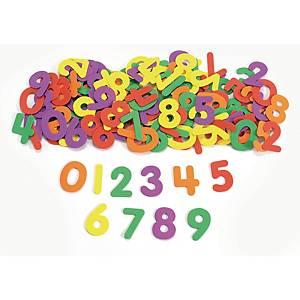 Colorations chiffres en caoutchouc 45 mm - le paquet de 150