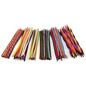Colorations cure-pipe 4-6 mm x 30,5 cm - le paquet de 250