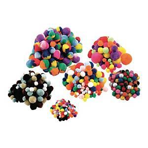 Colorations pompons paquet de classe - le paquet de 700