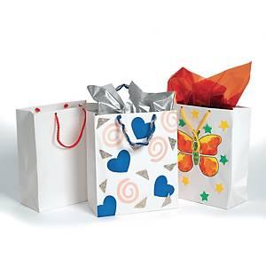 Colorations sacs en papier - le paquet de 24