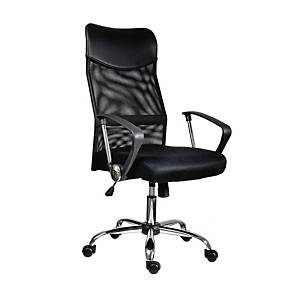 ANTARES TENNESSEE MESH CHAIR BLACK