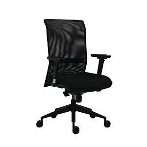 Antares 1580 Syn Gala kancelárska stolička, sieť, čierna