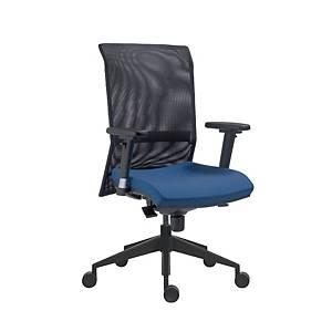 Antares 1580 Syn Gala kancelárska stolička, sieť, modrá