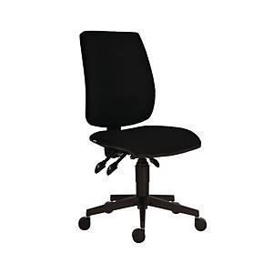 Antares 1380 Asyn Flute kancelárska stolička, čierna