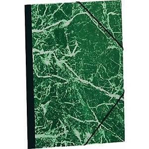 Exacompta farde de dessin A3 vert élastique