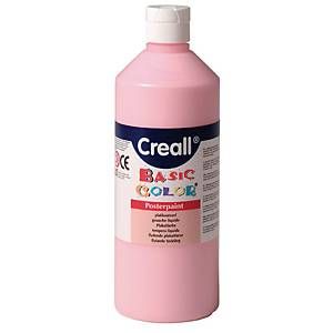 Gouache creall Basic  500 ml pastel - le paquet de 6