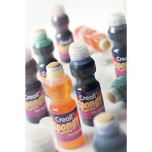 Creall Spongy Aquarel 70 ml couleurs assorties - le paquet de 6