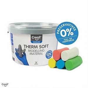 Creall Therm Junior pâte à modeler assorties - le paquet de 5