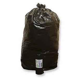 Sacchi spazzatura Rolsac 110 L nero - conf. 10