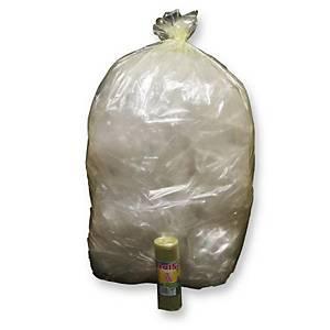 Sacchi spazzatura Rolsac 110 L giallo - rotolo 10